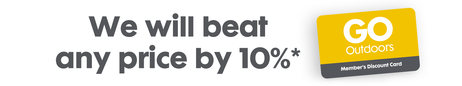 We will beat any price by 10%